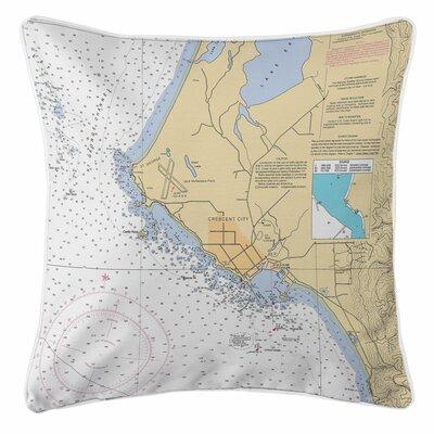 Crescent City, CA Throw Pillow