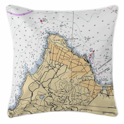 Pacific Grove, Monterey, CA Throw Pillow
