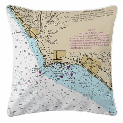 Dana Point, Capistrano Beach, CA Throw Pillow