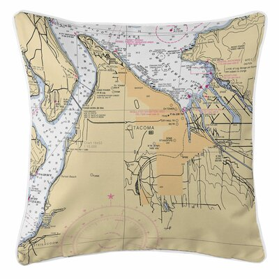 Tacoma, WA Throw Pillow