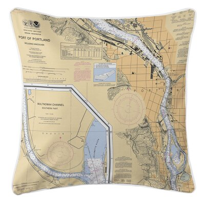 Portland, OR Throw Pillow