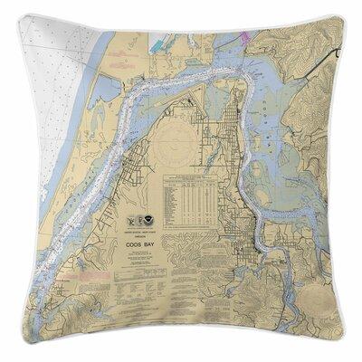 Coos Bay, OR Throw Pillow