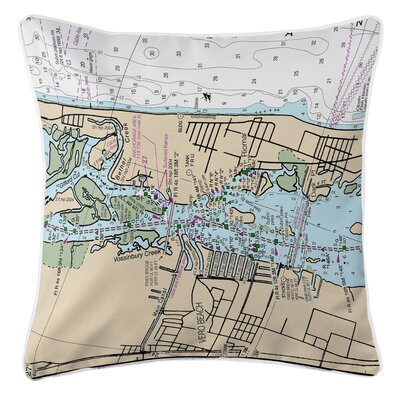Vero Beach, FL Throw Pillow