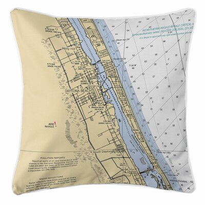 Daytona Beach, FL Throw Pillow