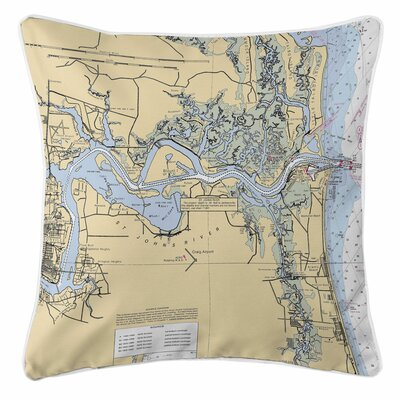 Jacksonville, FL Throw Pillow