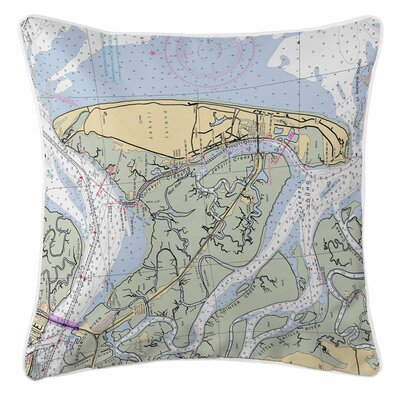 Jekyll Island, GA Throw Pillow