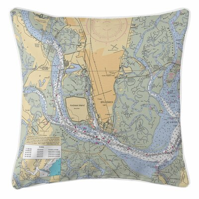 Brunswick, GA Throw Pillow