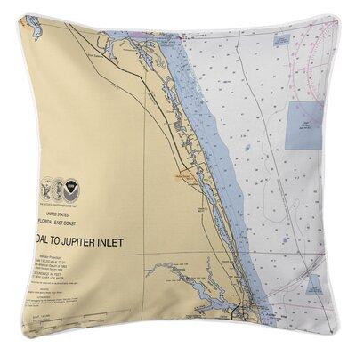 Jupiter Island, FL Throw Pillow