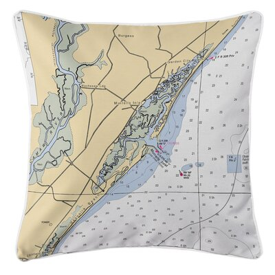 Murrells Inlet, SC Throw Pillow