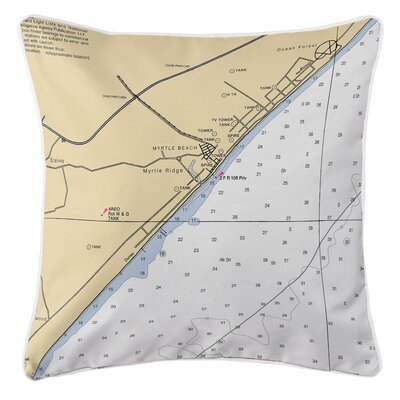 Myrtle Beach, SC Throw Pillow
