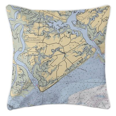 Edisto Island, SC Throw Pillow