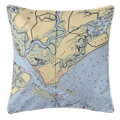 Seabrook Island, SC Throw Pillow