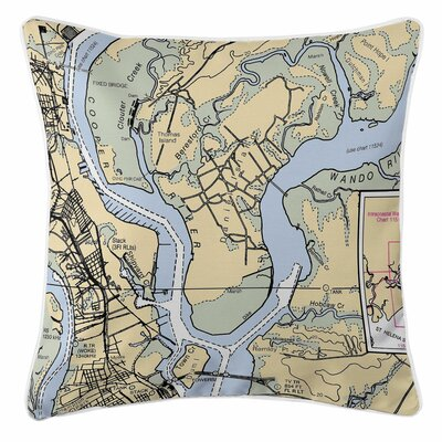 Daniel Island, SC Throw Pillow