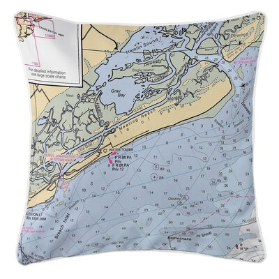 Isle of Palms, SC Throw Pillow