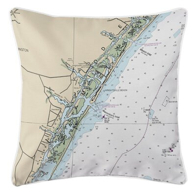 Addyson Wrightsville Beach, NC Throw Pillow