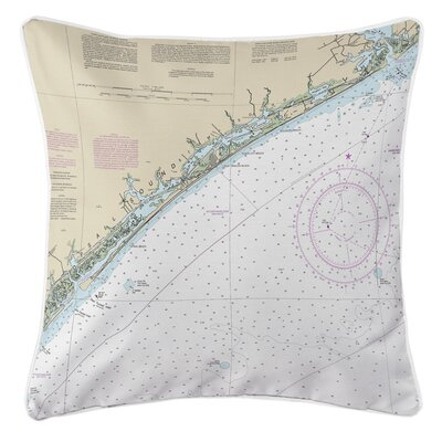 Addyson Topsail Island, NC Throw Pillow