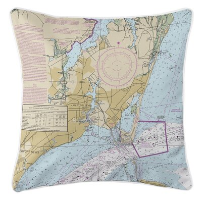 Addyson Hampton, VA Throw Pillow