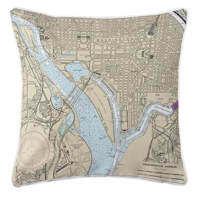 Addyson Washington Harbor, DC Throw Pillow