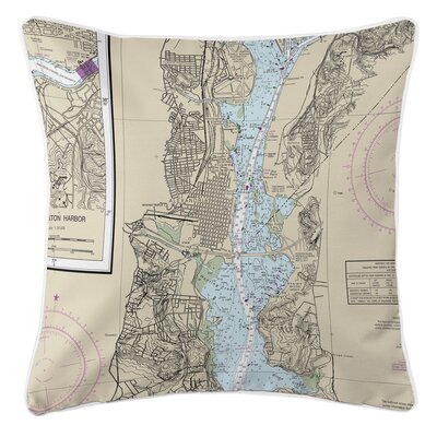 Ellisburg Alexandria, VA Throw Pillow