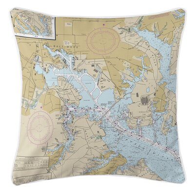 Ellisburg Baltimore, MD Throw Pillow