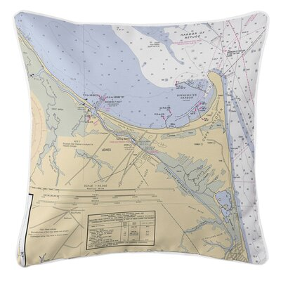 Addyson Lewes, DE Throw Pillow