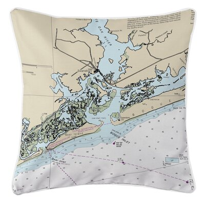 Addyson Swansboro, NC Throw Pillow