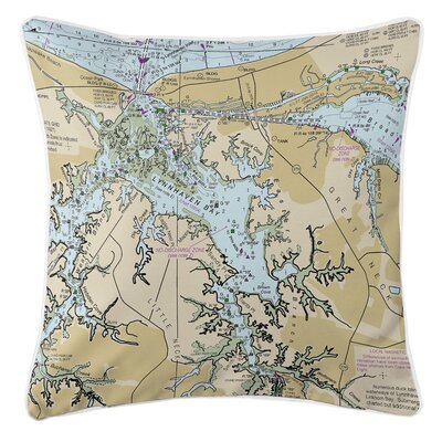 Georgina Lynnhaven Bay, VA Throw Pillow