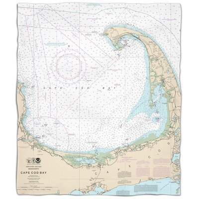Ellisburg Cape Cod, MA Fleece Throw