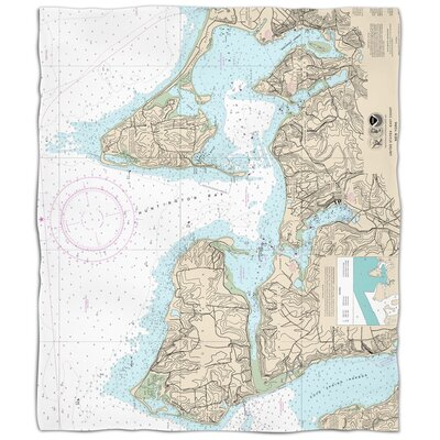 Addyson Huntington Bay, NY Fleece Blanket