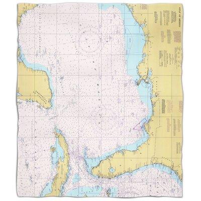 Ellisburg Gulf of Mexico Fleece Blanket