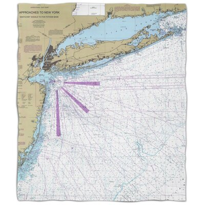 Ellisburg Long Island, NY Fleece Blanket