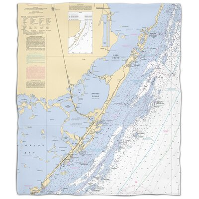 Ellisburg Key Largo, FL Fleece Throw