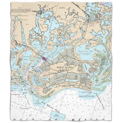 Ellisburg Marco Island, FL Fleece Throw