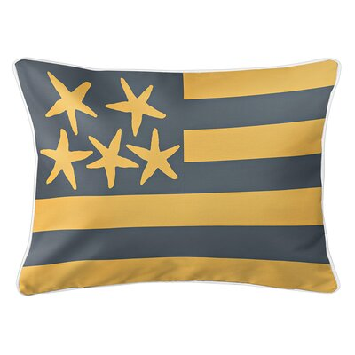 Eldridge Flag Lumbar Pillow Color: Driftwood