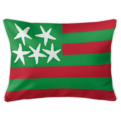 Eldridge Flag Lumbar Pillow Color: Holiday