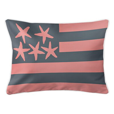 Eldridge Flag Lumbar Pillow Color: Del Mar