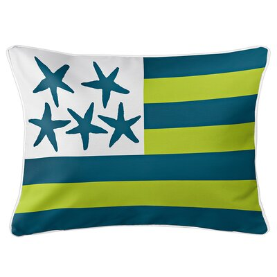 Eldridge Flag Lumbar Pillow Color: Riverwalk