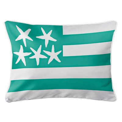 Eldridge Flag Lumbar Pillow Color: Windsong