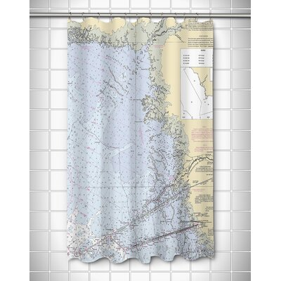 Ellisburg Yankeetown, FL Shower Curtain