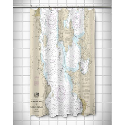 Ellisburg Burlington, VT Shower Curtain