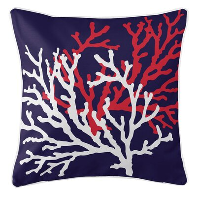 Waterbury Red Throw Pillow