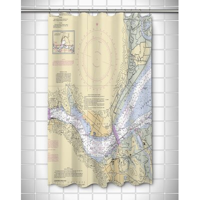 Ellisburg Benicia California Shower Curtain