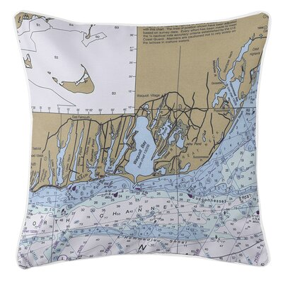 Ellisburg East Falmouth, MA Throw Pillow
