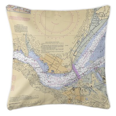 Ellisburg Benicia, CA Throw Pillow