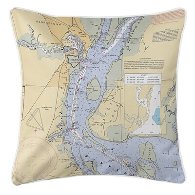 Ruger Georgetown, SC Throw Pillow