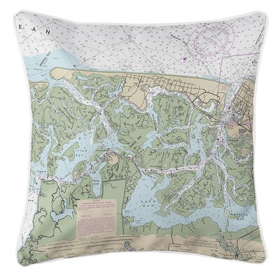 Ruger Brigantine, NJ Throw Pillow