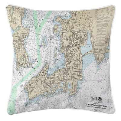 Ruger Newport, RI Throw Pillow