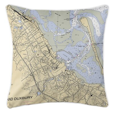 Ruger Plymouth, MA Throw Pillow
