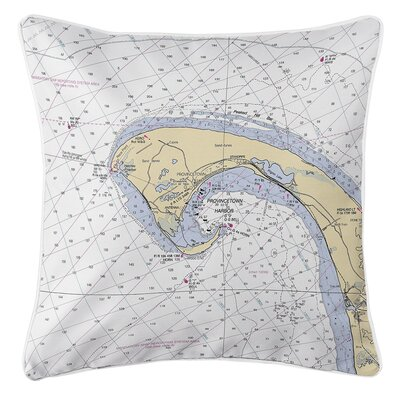 Ruger Provincetown, MA Throw Pillow
