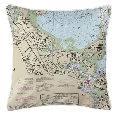 Ruger Quincy, MA Throw Pillow
